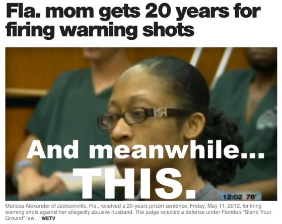 Warning shot conviction